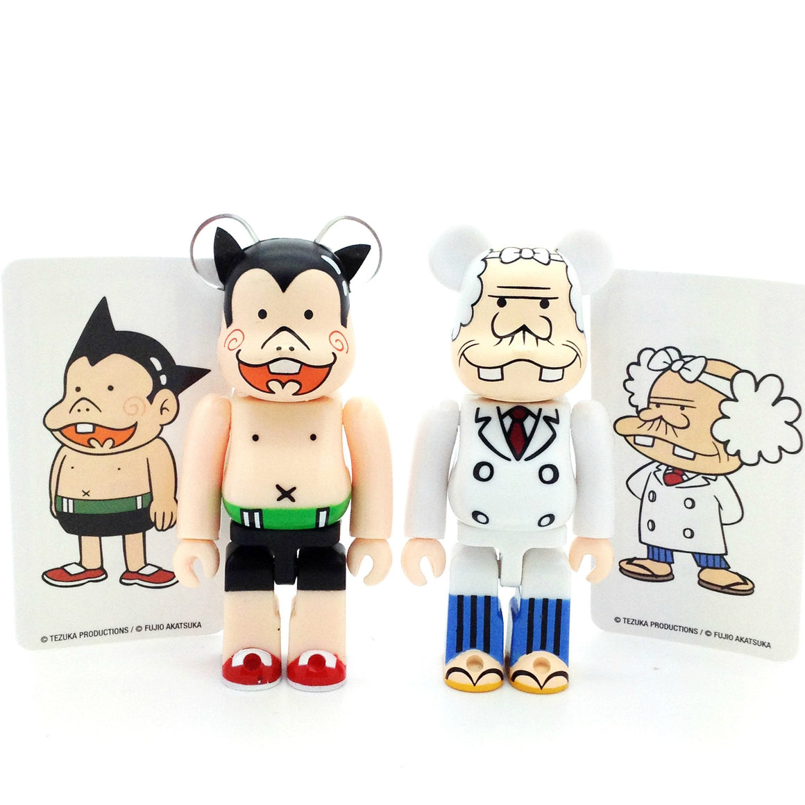 Bearbrick Series 32 - Astro Boy and Doctor Ochanomizu (Artist) (Set of 2)