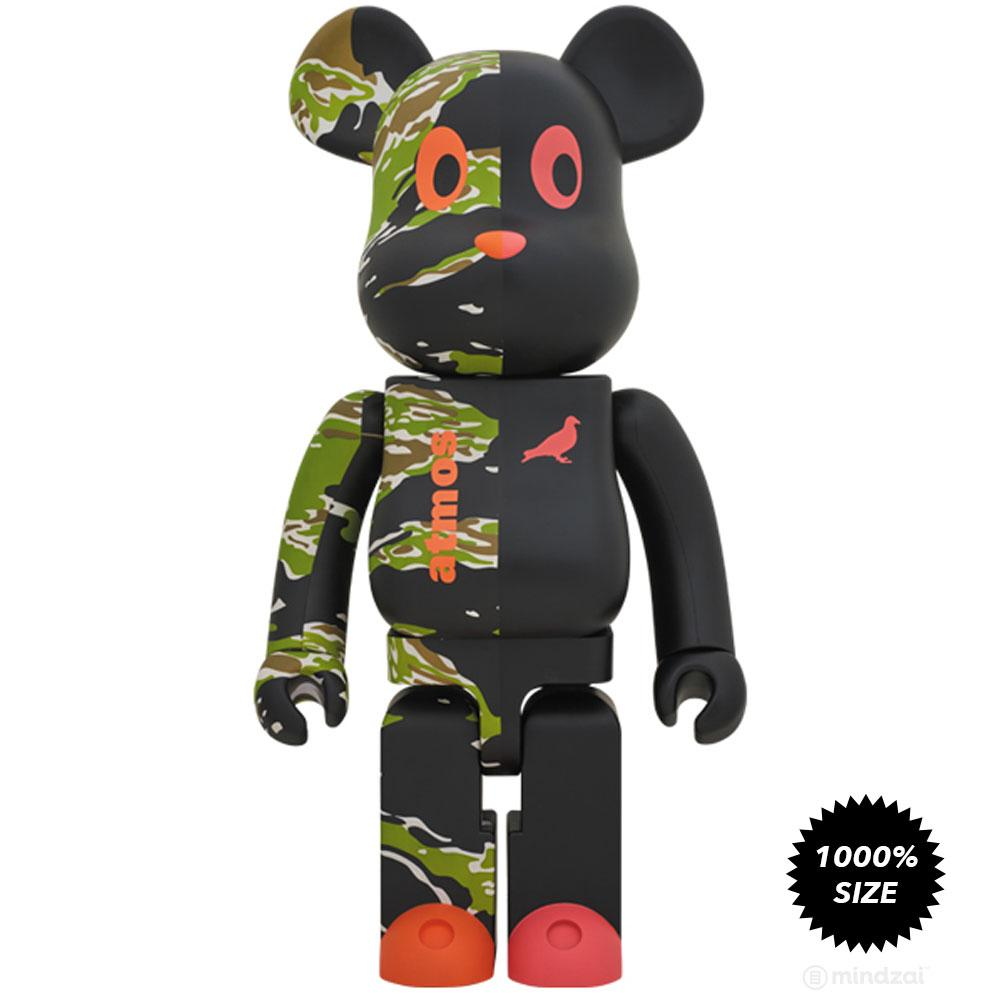 *Pre-order* Atmos × Staple #2 Camo 1000% Bearbrick by Medicom Toy
