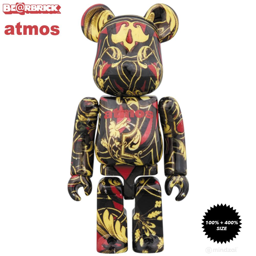 *Pre-order* Atmos x Timberland Scarf 100% + 400% Bearbrick Set by Medicom Toy
