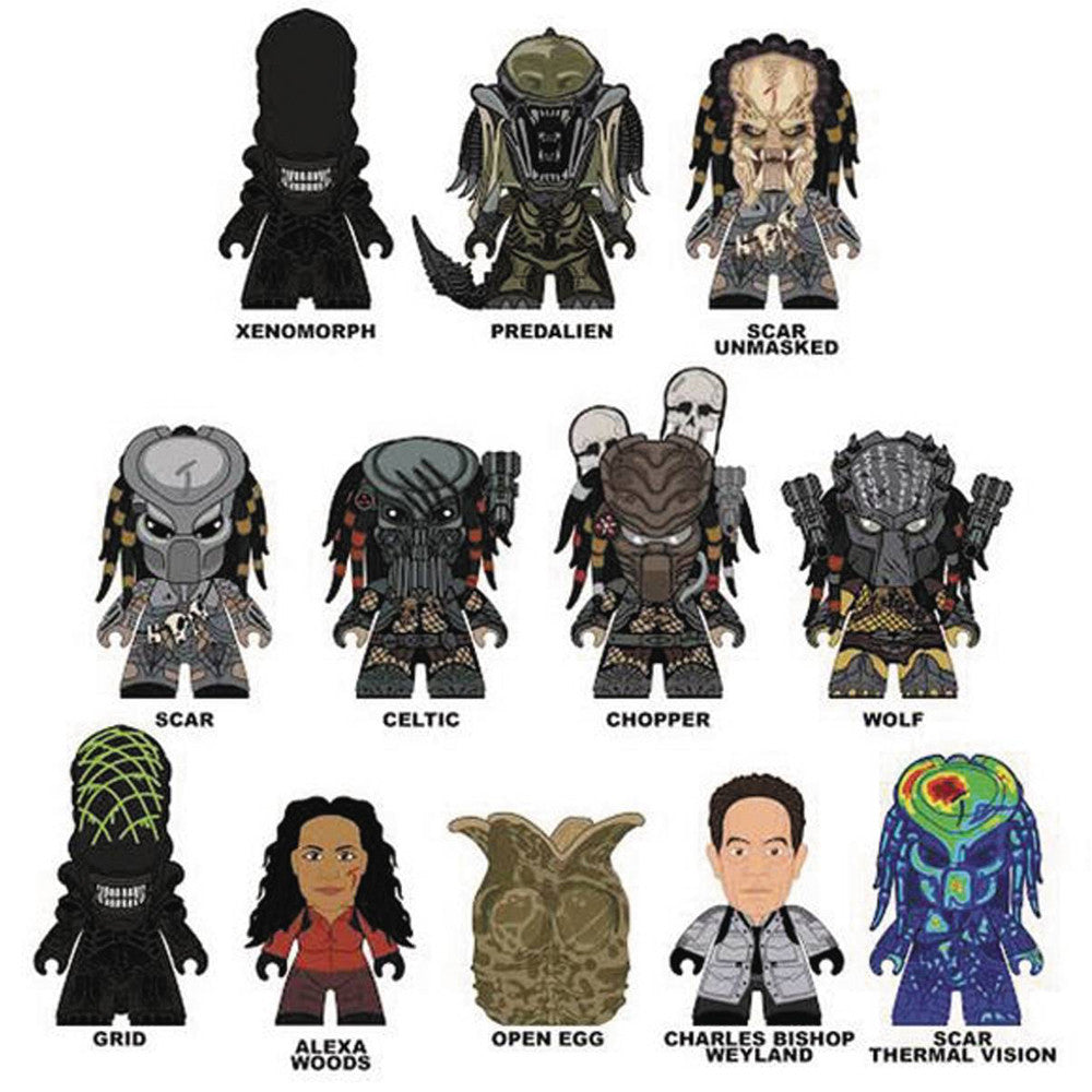 Alien vs. Predator Whoever Wins Collection Blind Box Series - Mindzai  - 1