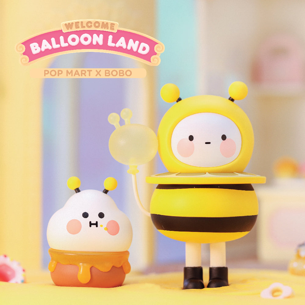 Bobo and Coco Balloon Land Blind Box Toy Series by POP MART