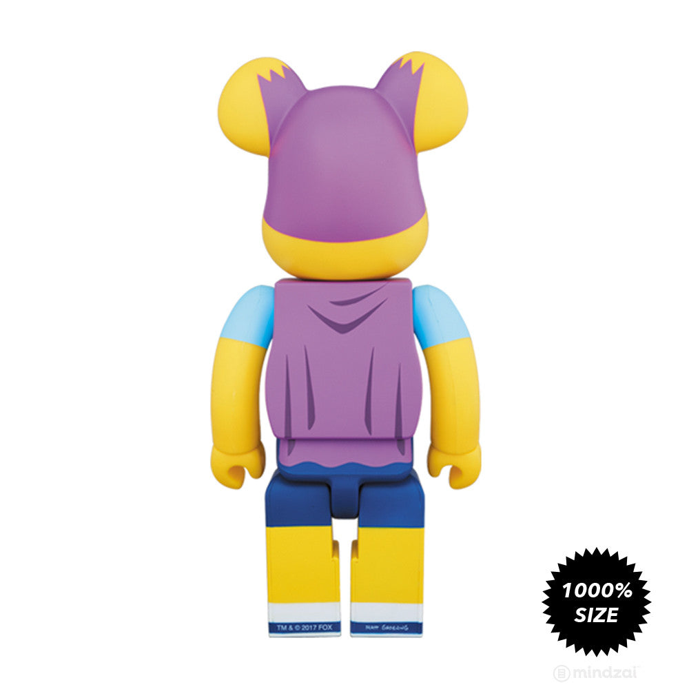 Bartman 1000% Bearbrick by Medicom Toy x The Simpsons- Pre-order