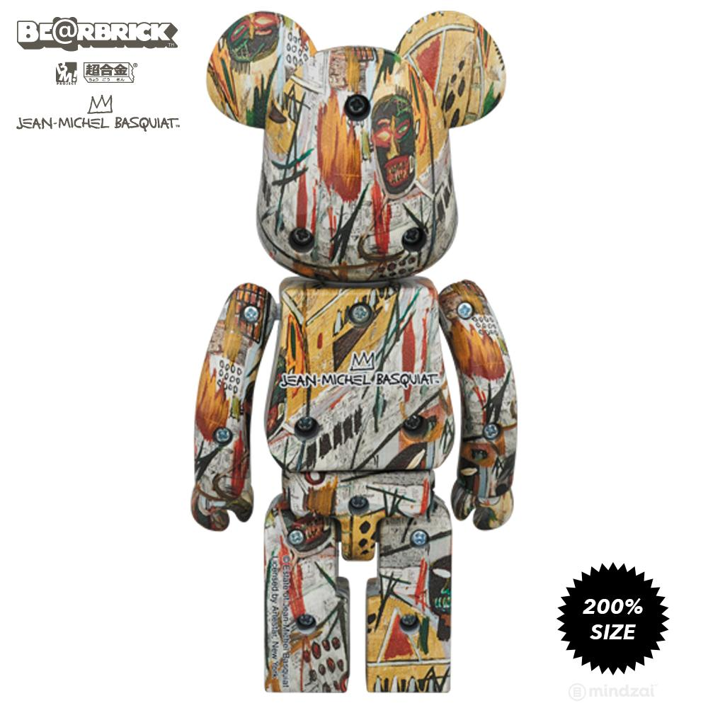 Jean-Michel Basquiat #1 Super Metal Alloy 200% Bearbrick by Medicom Toy