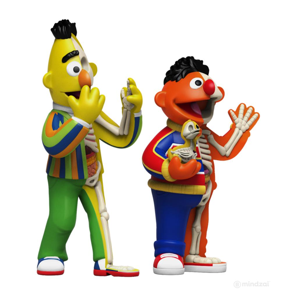 XXRAY Plus Bert and Ernie Sesame Street Art Toy by Jason Freeny x Mighty Jaxx