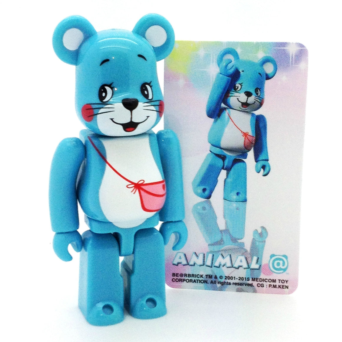 Bearbrick Series 31 - Blue Teddy (Animal) - Mindzai  - 1