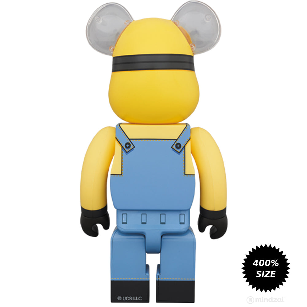 *Pre-order* Bob Minion Despicable Me 400% Bearbrick by Medicom Toy