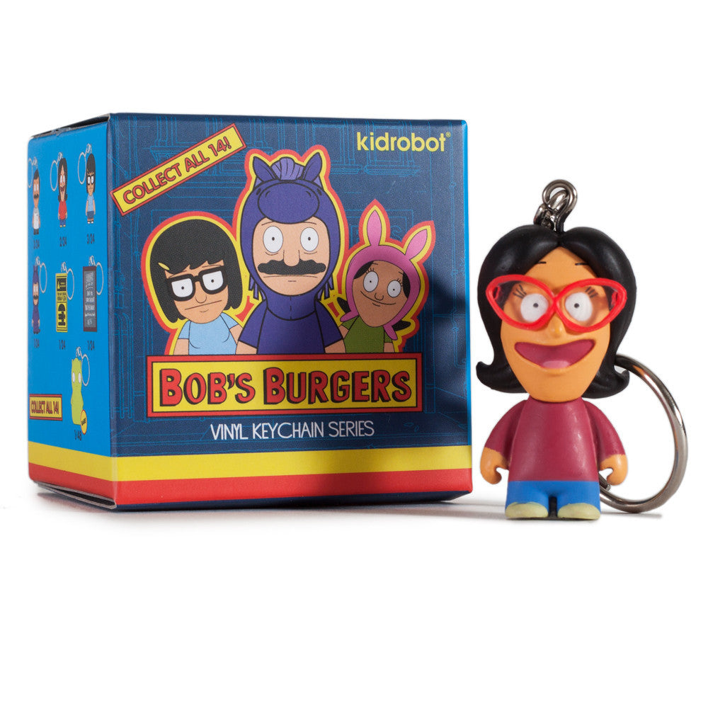 Bob's Burgers Blind Box Keychain Series by Kidrobot