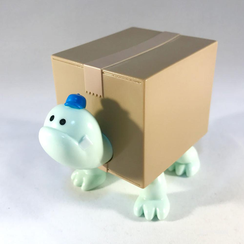 Box Turtles Blue x Melon Sofubi Toy Figure by Hariken