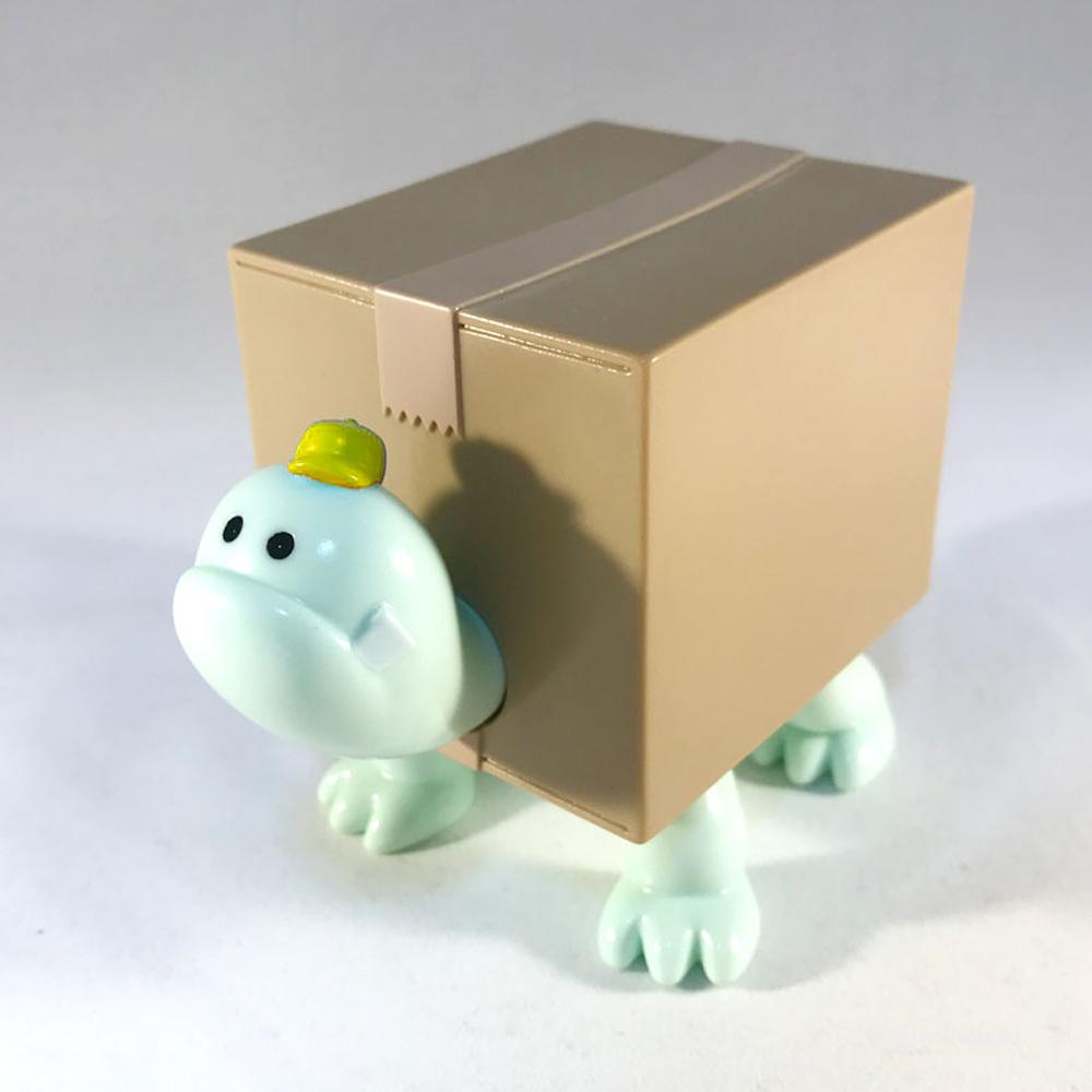 Box Turtles Yellow x Melon Sofubi Toy Figure by Hariken