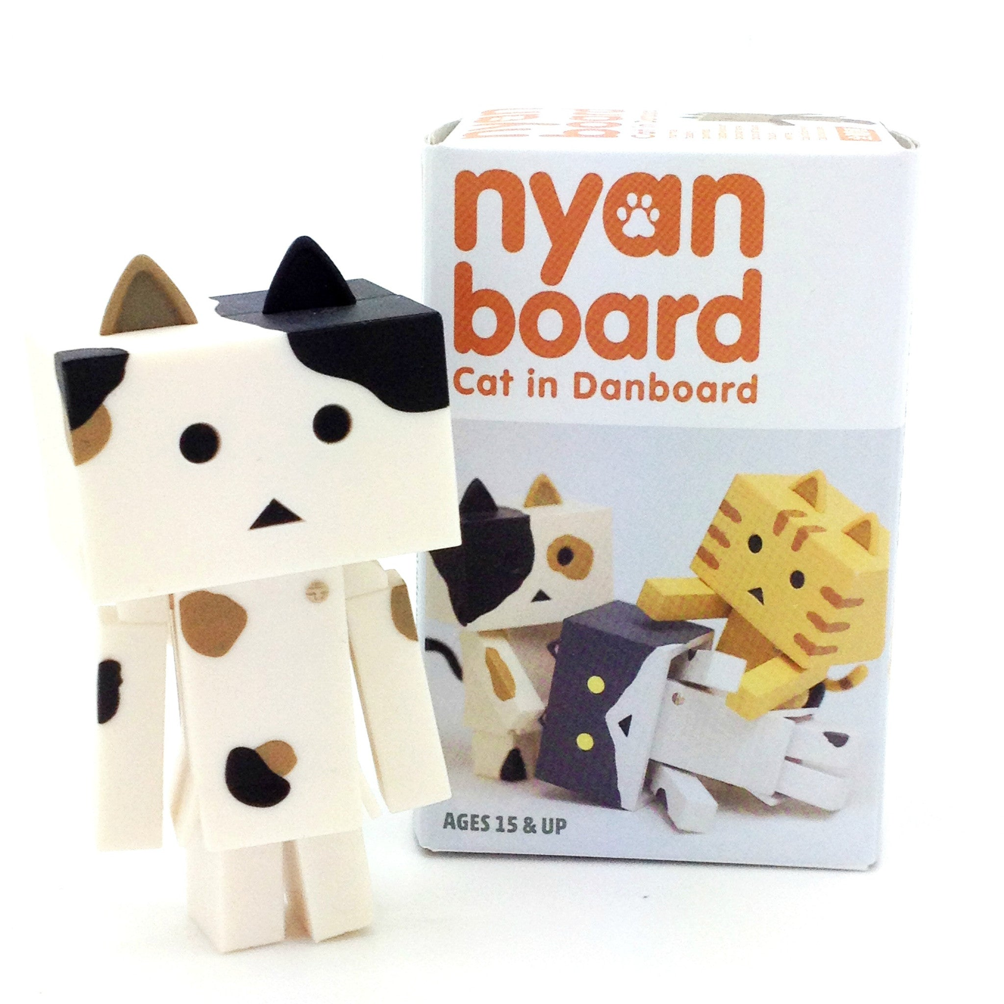 Nyanboard Cat Figure Blind Box Series Calico Brown