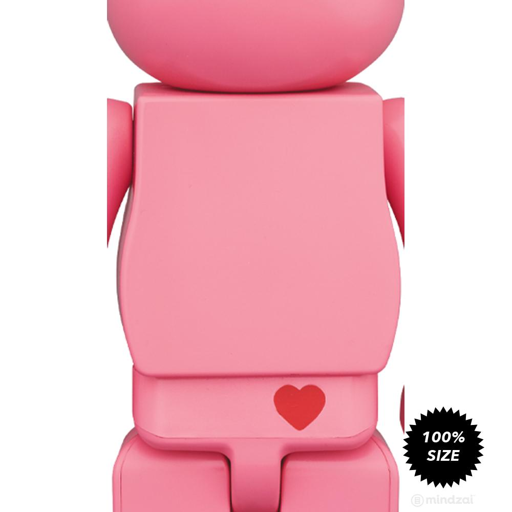 *Pre-order* Care Bears Love-a-Lot Bear 100% Bearbrick by Medicom Toy