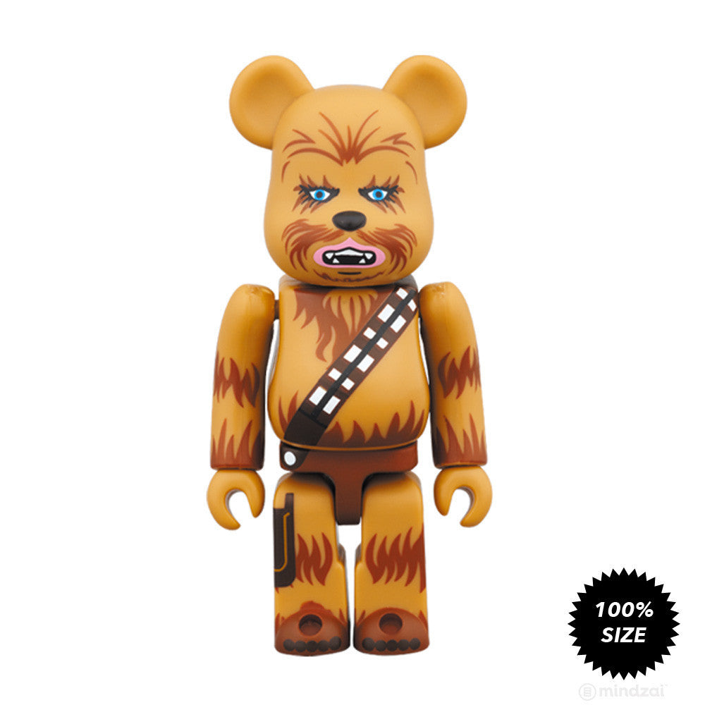 Chewbacca Bearbrick 100% by Medicom Toy x Star Wars