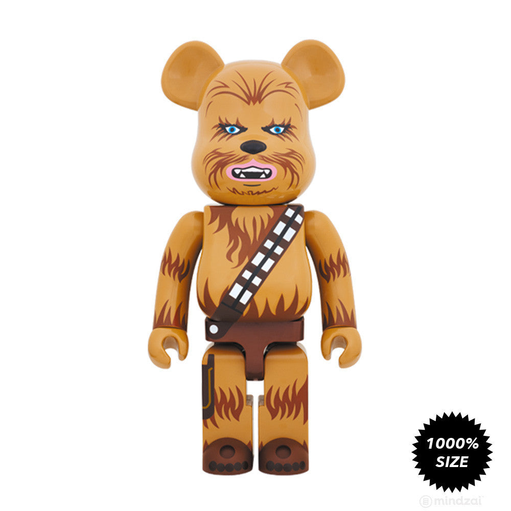 Chewbacca Bearbrick 1000% by Medicom Toy x Star Wars