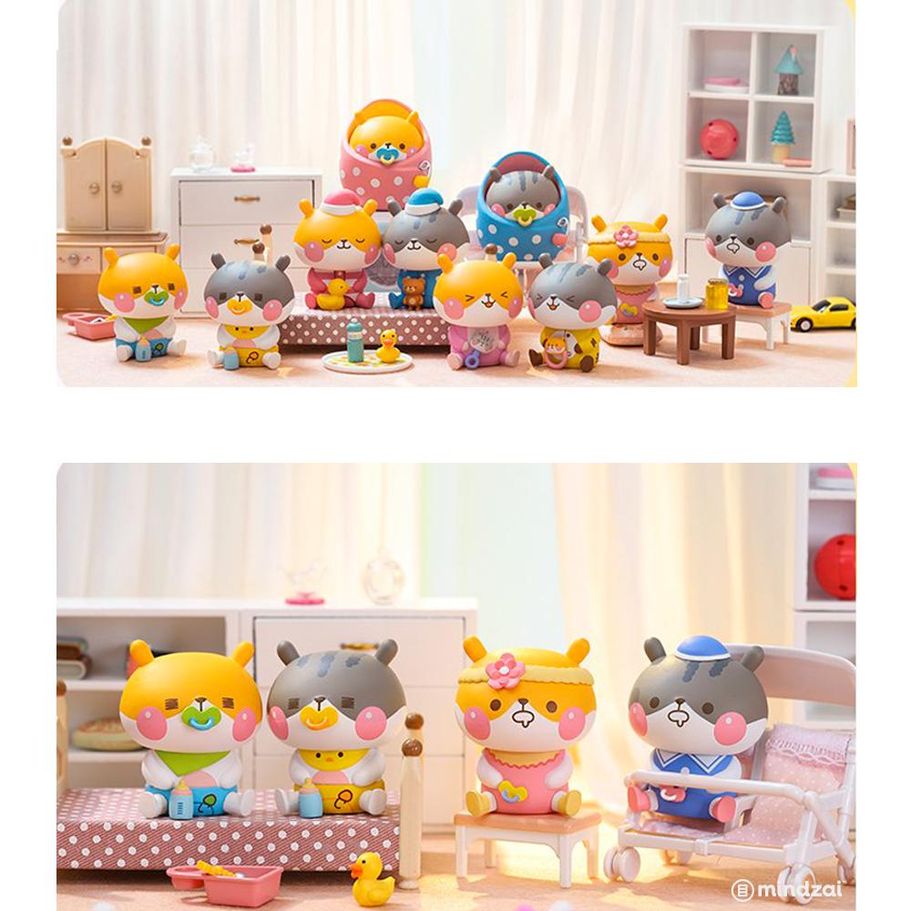 Little Baby Chewy Hams Blind Box Series by Funi x POP MART