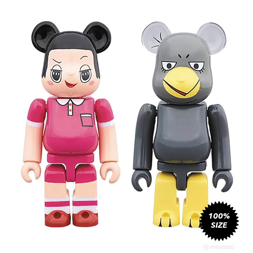 Chico Chan and Kyoe 100% Bearbrick 2-Pack by Medicom Toy