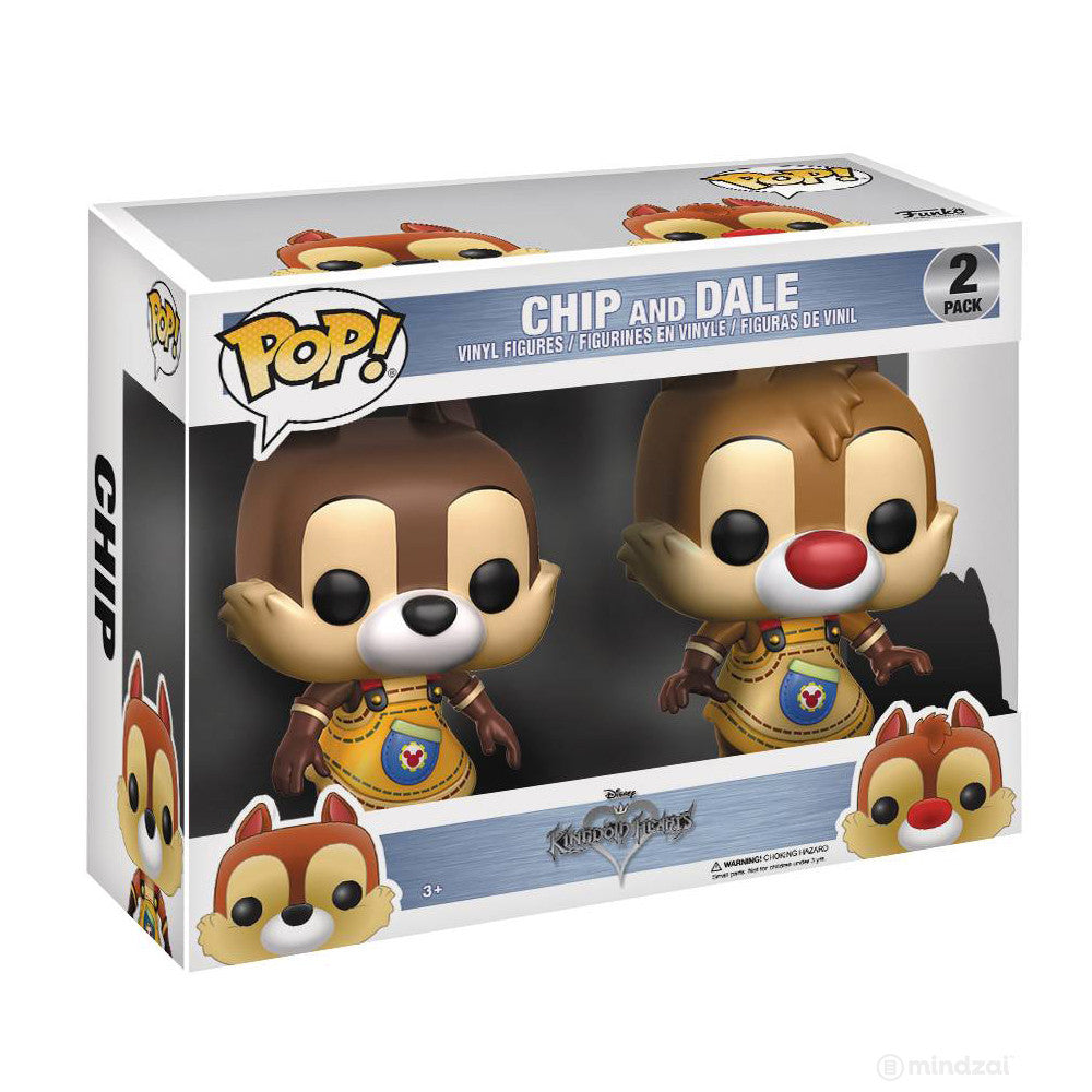 Chip And Dale Kingdom Hearts POP Vinyl Figure by Funko