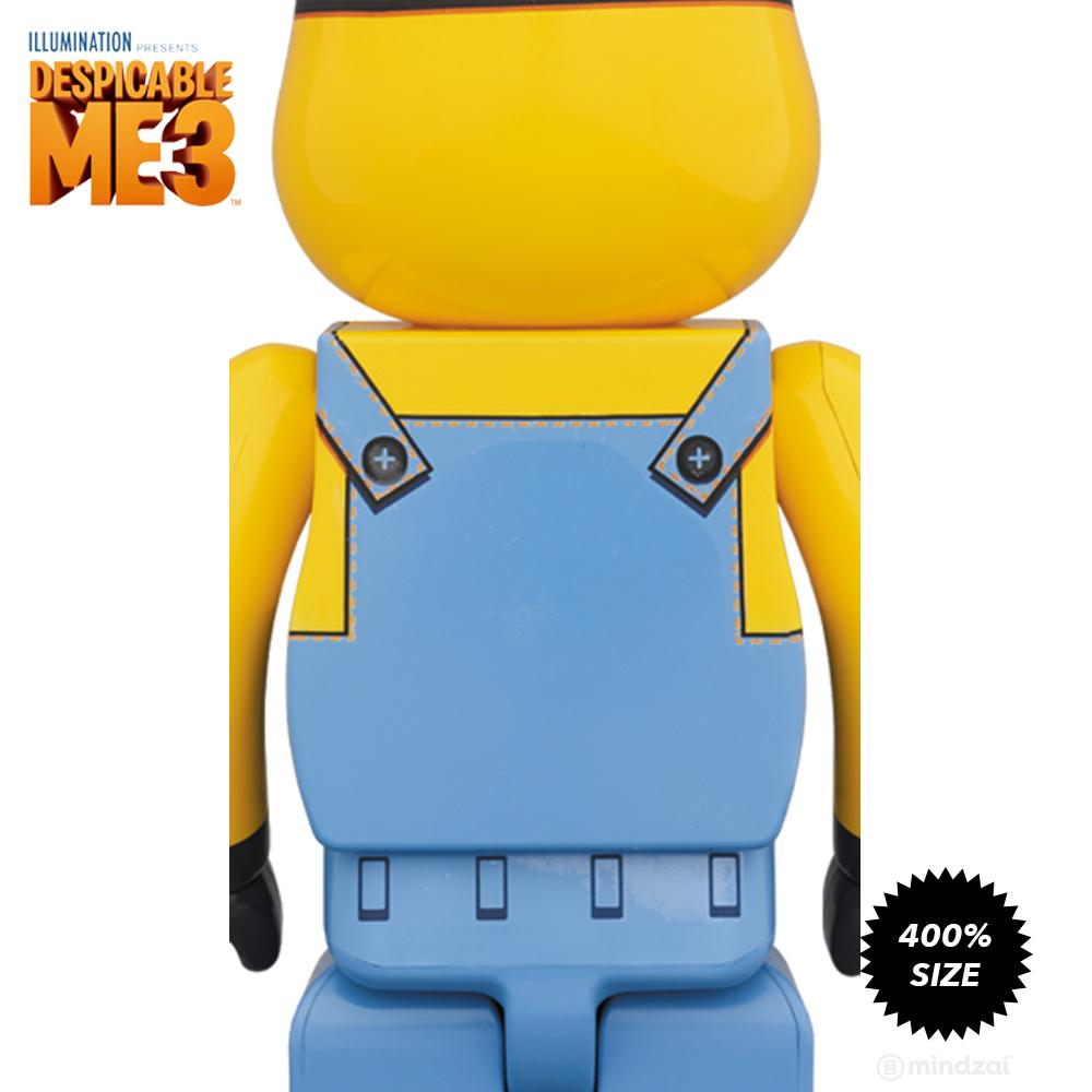 Dave Minion Despicable Me 3 400% Bearbrick