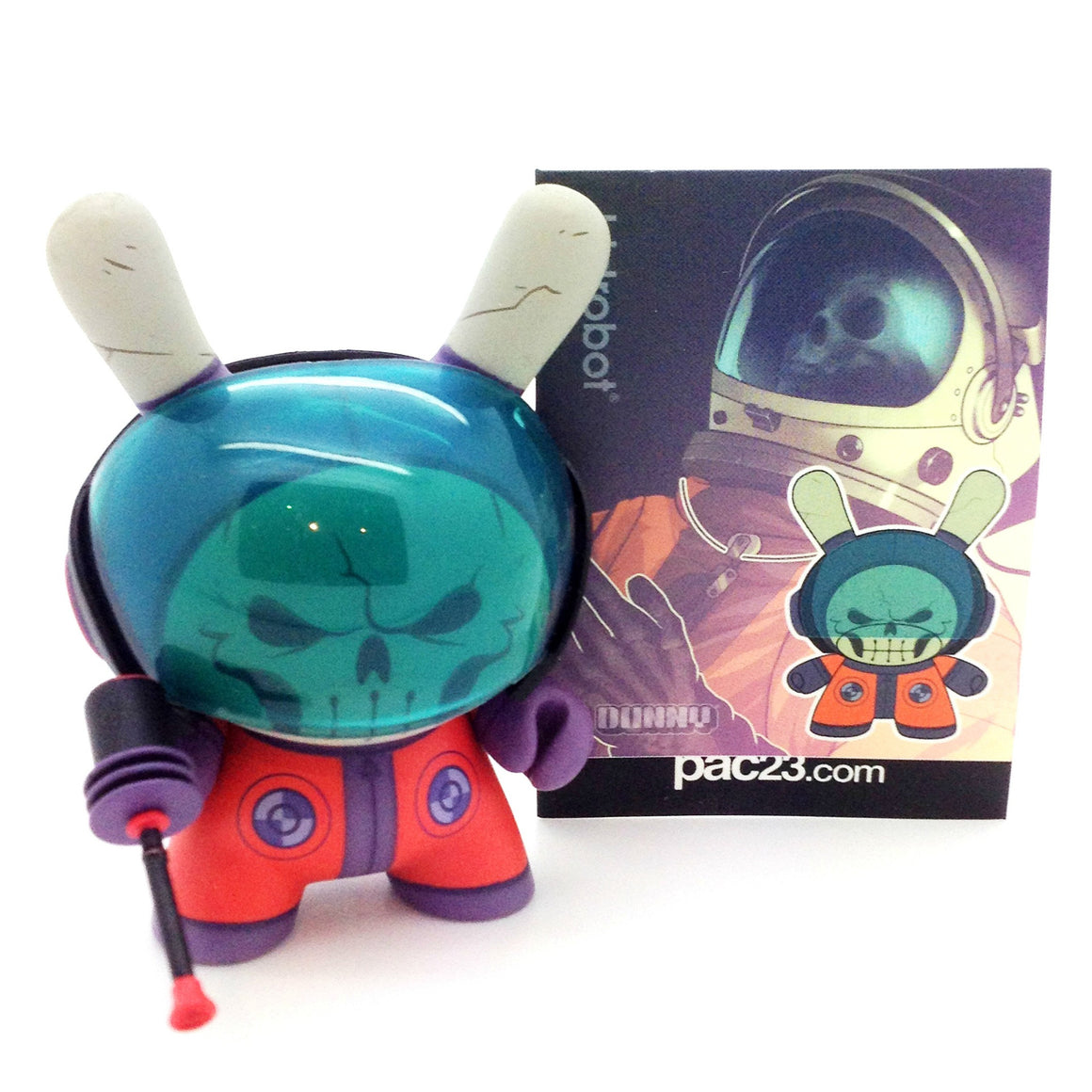 Dunny 2012 Series - Dead Astronaut Dunny - Mindzai  - 1