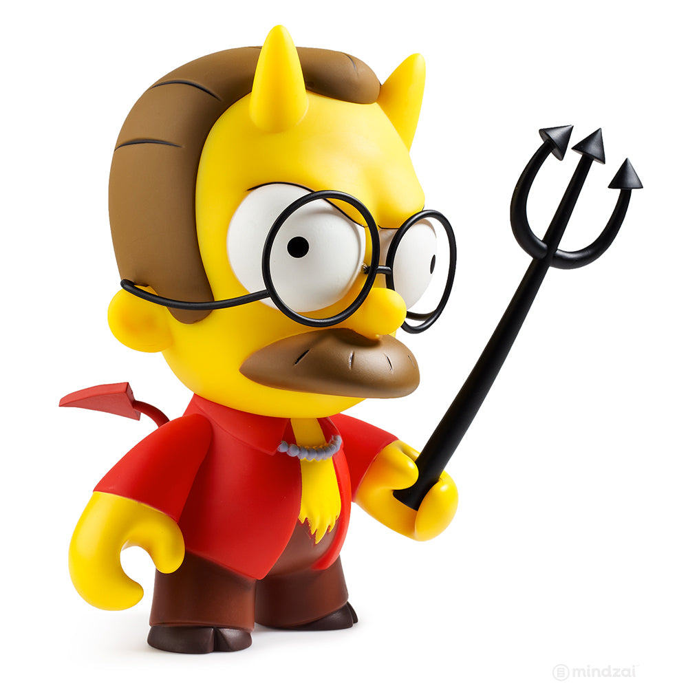 Devil Flanders Medium Figure by Kidrobot x The Simpsons