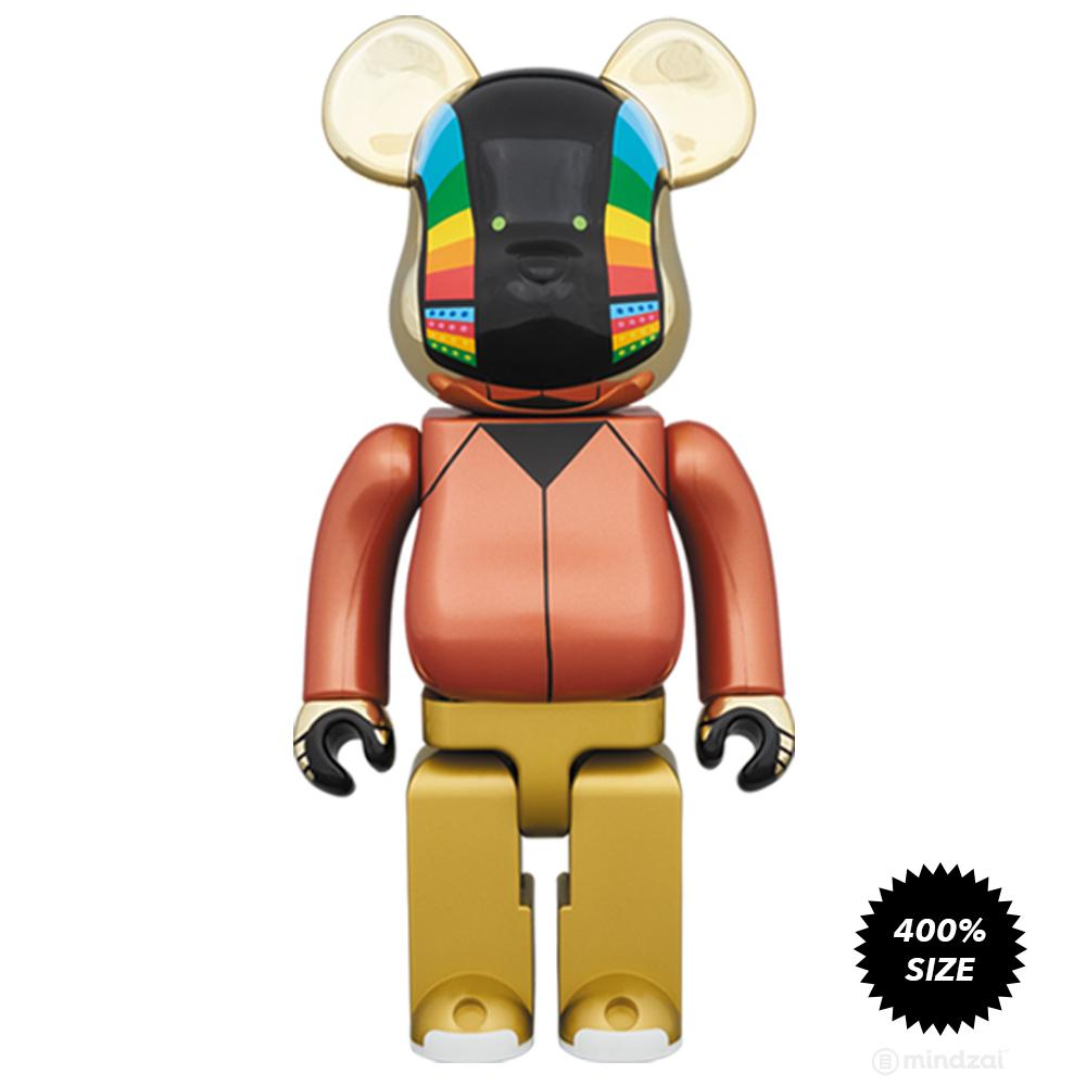 Daft Punk Discovery Tour Suit 400% Bearbrick Set by Medicom Toy