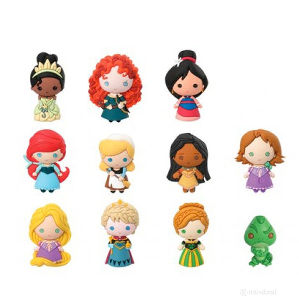 Disney Princess Series 7 Figural Keychain Blind Bag Mindzai