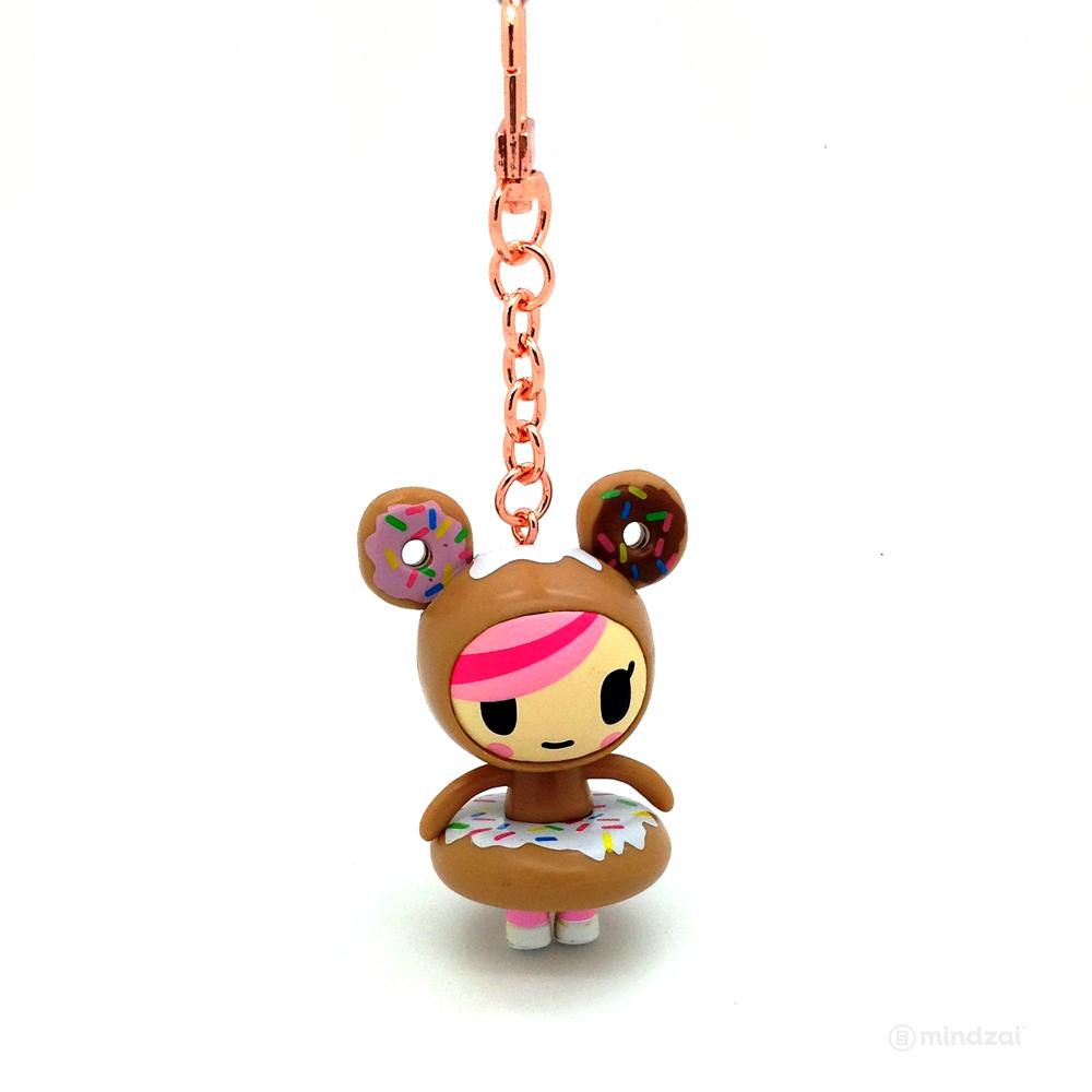 Donutella with Rose Gold Keychain by Tokidoki