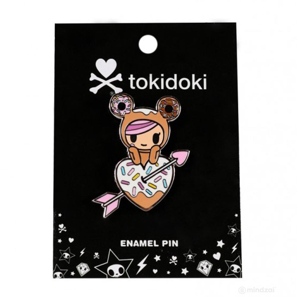 Donutella Enamel Pin by Tokidoki