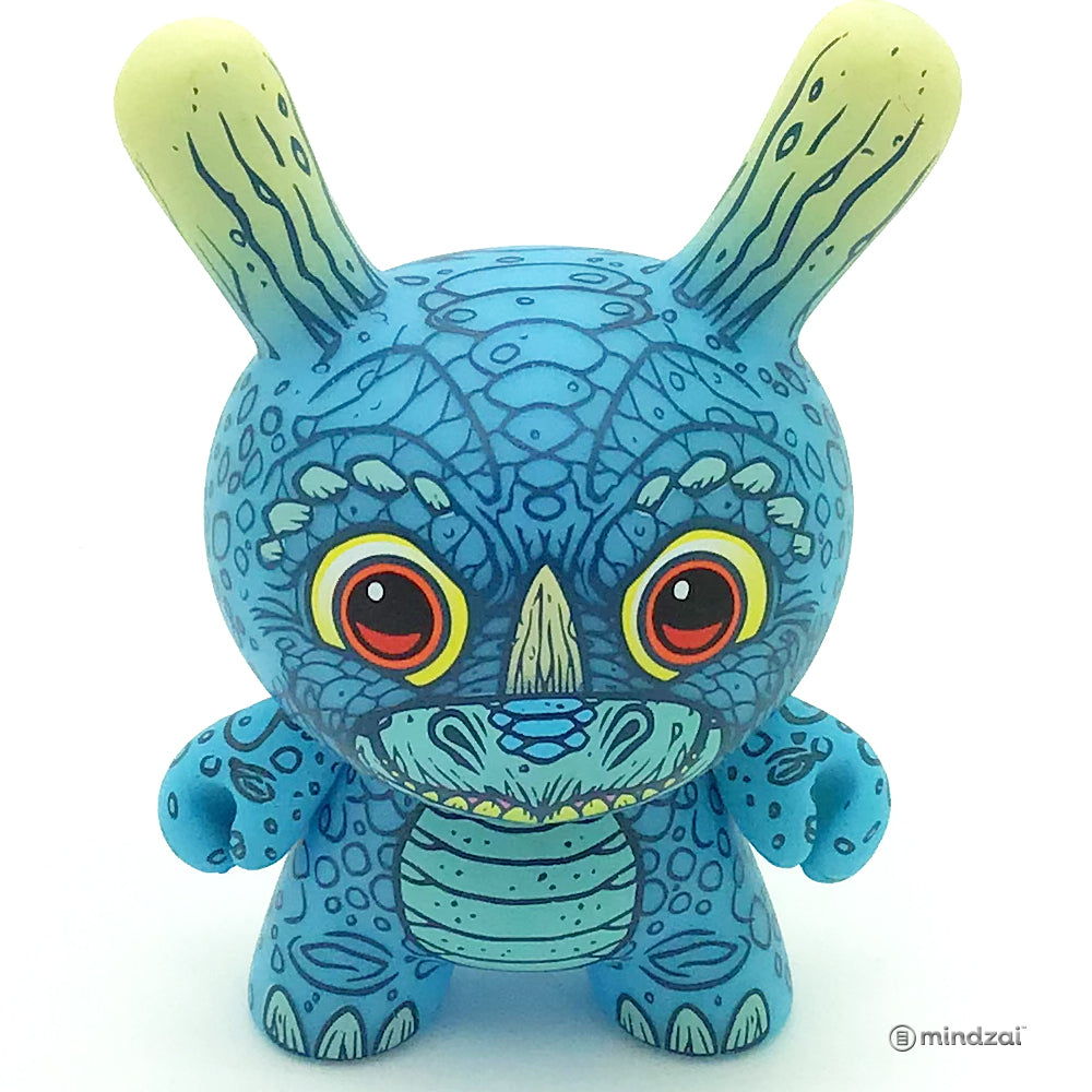 Kaiju Dunny Battle Series by Clutter x Kidrobot - Dunnyceratops Dunny (James Groman)