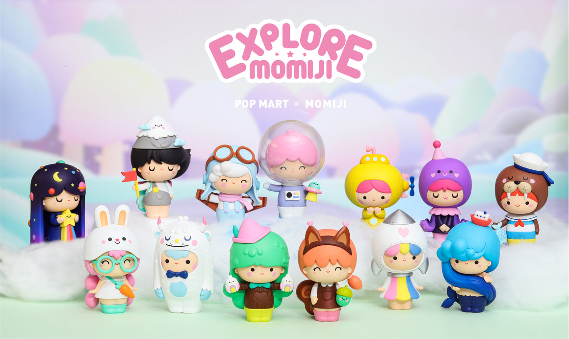 Momiji Explore Blind Box Toy Series by Momiji x POP MART