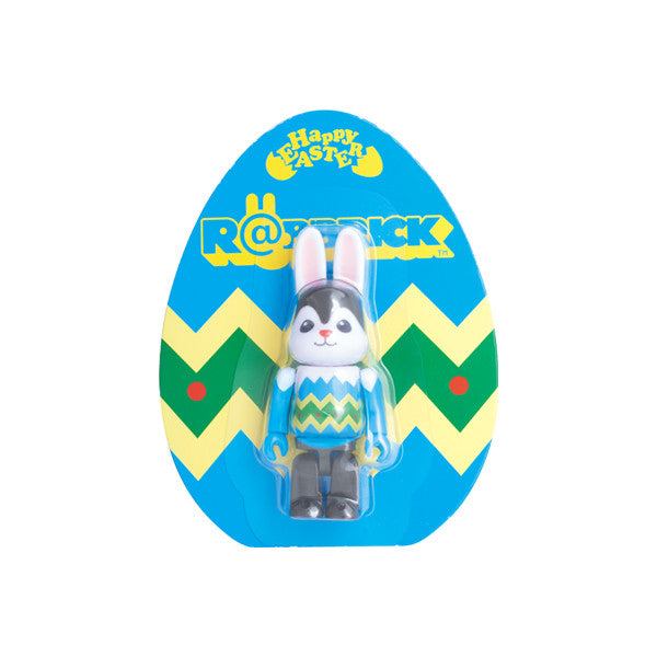 Easter 2016 Blue Rabbrick Mini Figure by Medicom Toy - Mindzai