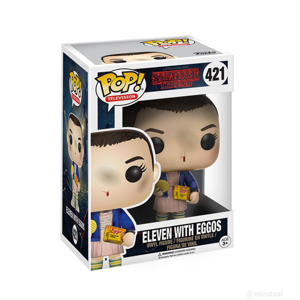 Eleven with Eggos Vinyl Figure by Funko