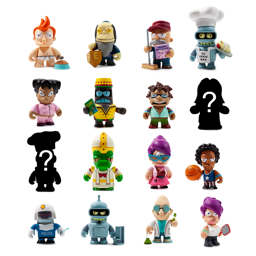 Futurama Good News Everyone Blind Box Mini Series by Kidrobot
