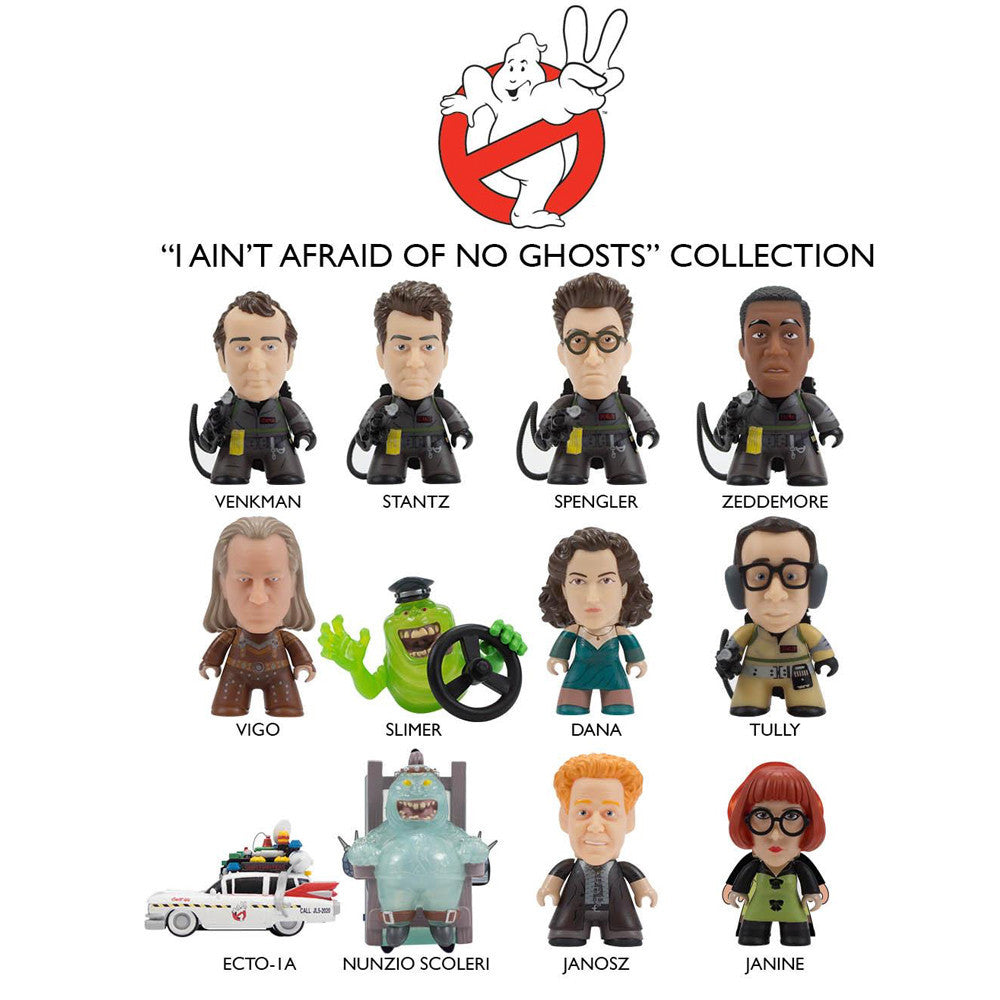 """Titans GHOSTBUSTERS 2 I Ain/'t Afraid of No Ghosts LOUIS TULLY 3/"""" Vinyl Figure"""