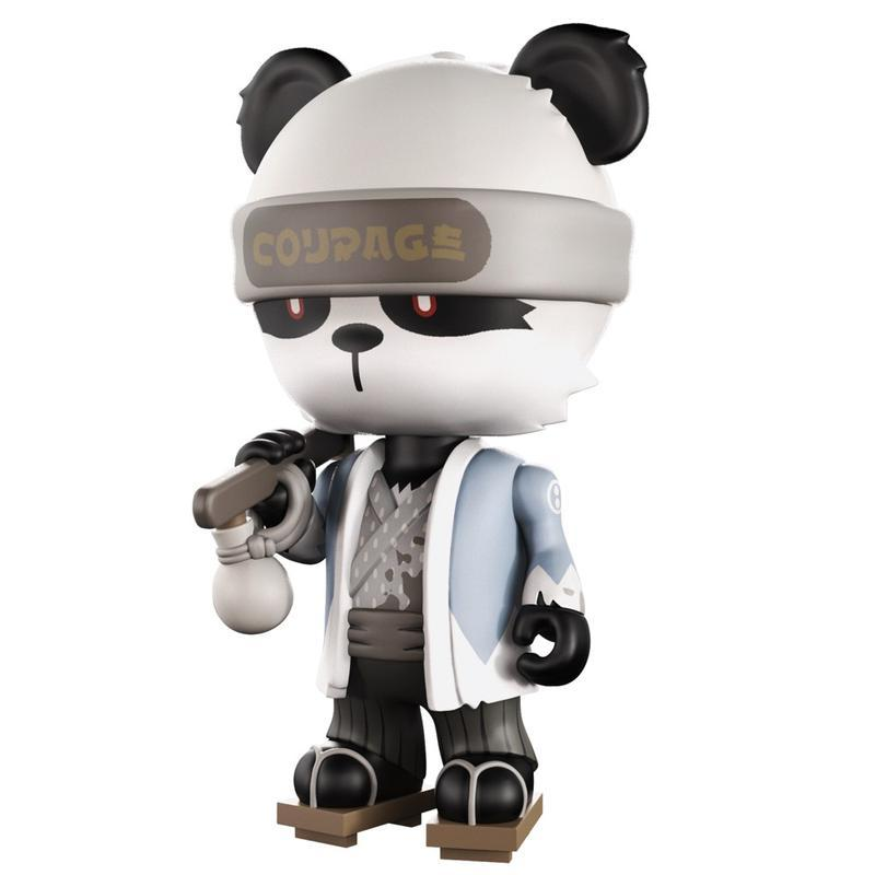 Gold Life: Tapso The Ornery Panda by Huck Gee x Mighty Jaxx - Pre-order