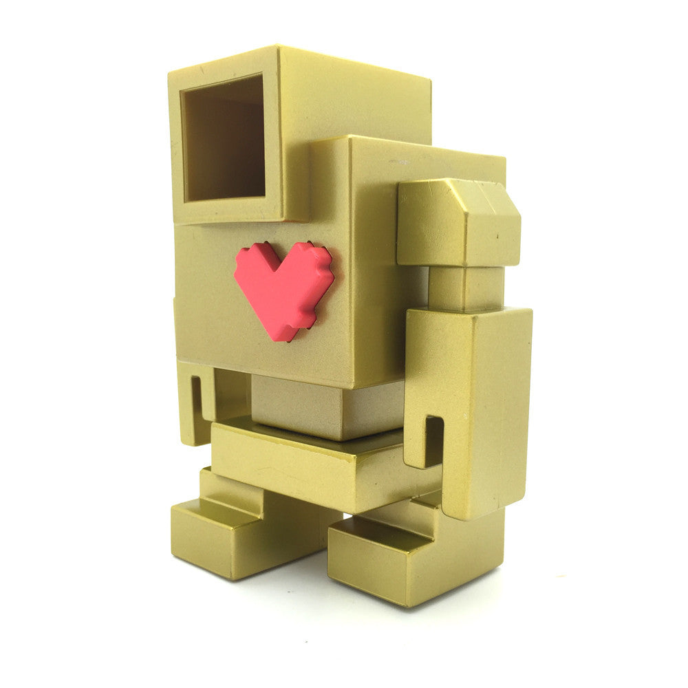 Gold Lovebot by Matthew Del Degan - Mindzai  - 1