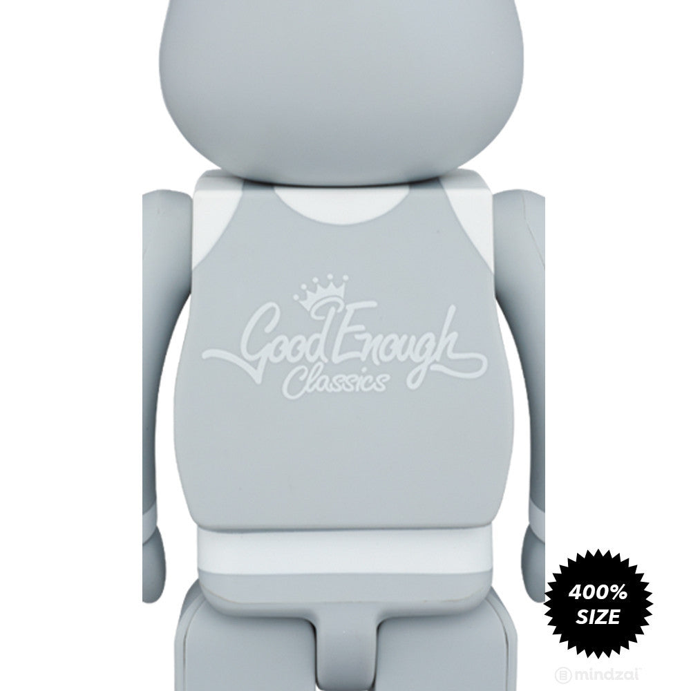 "Good Enough x Medicom Toy ""Classics"" Grey 400% Bearbrick"