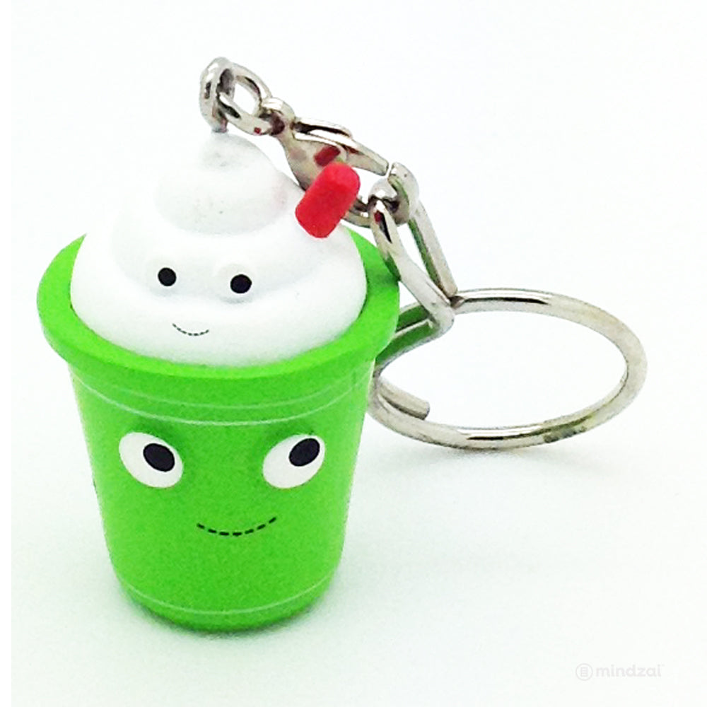 Yummy World Fresh Friends Keychain Series - Green Tea Latte