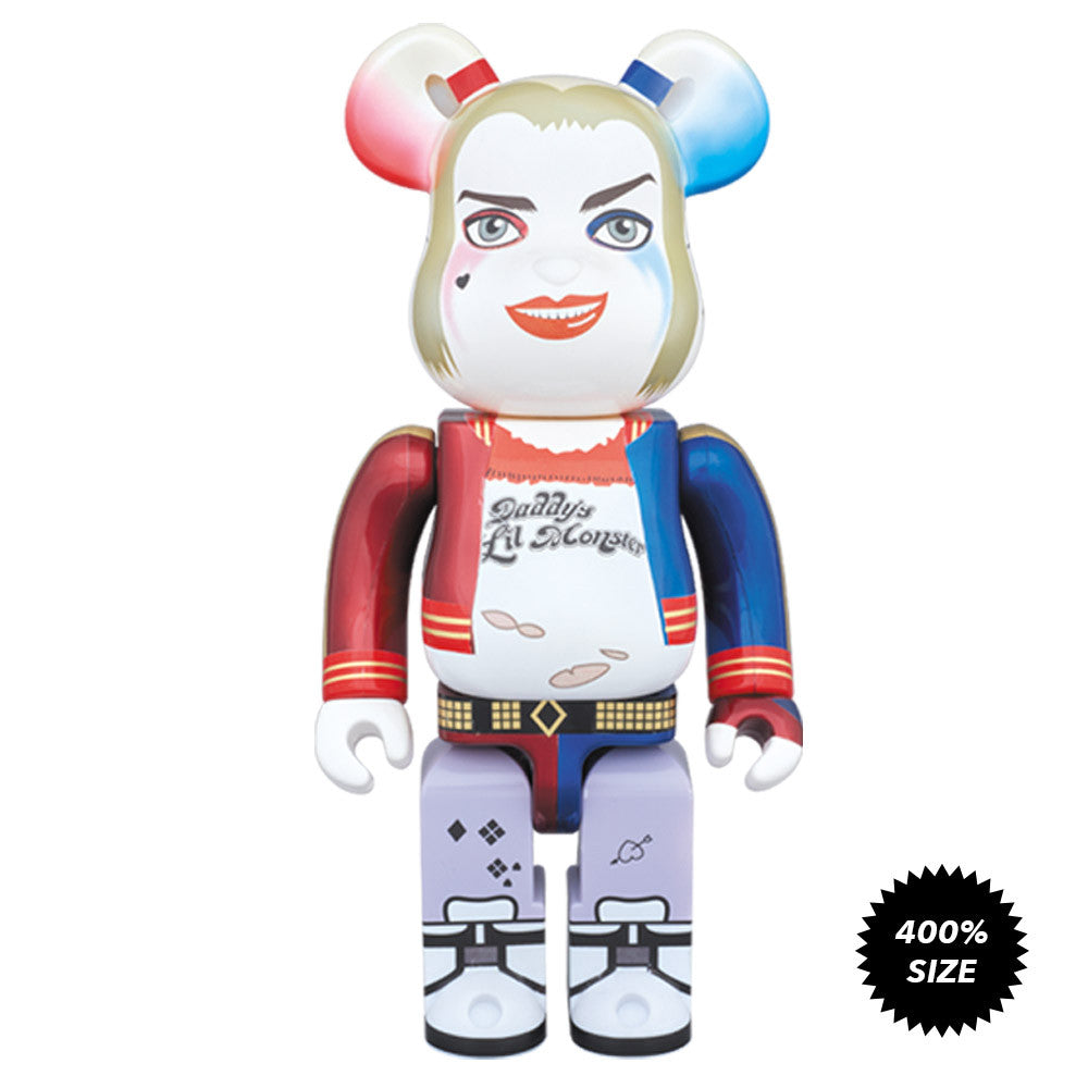 Harley Quinn Suicide Squad 400% Bearbrick - Mindzai