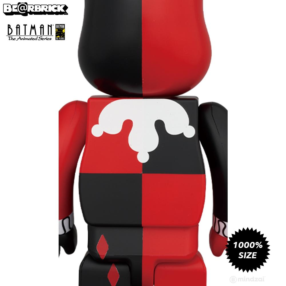 *Pre-order* Harley Quinn Batman Animated 1000% Bearbrick Set by Medicom Toy