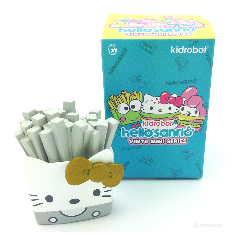 Hello Sanrio Blind Box Mini Series by Kidrobot x Sanrio - Hello Kitty Fries (Chase)