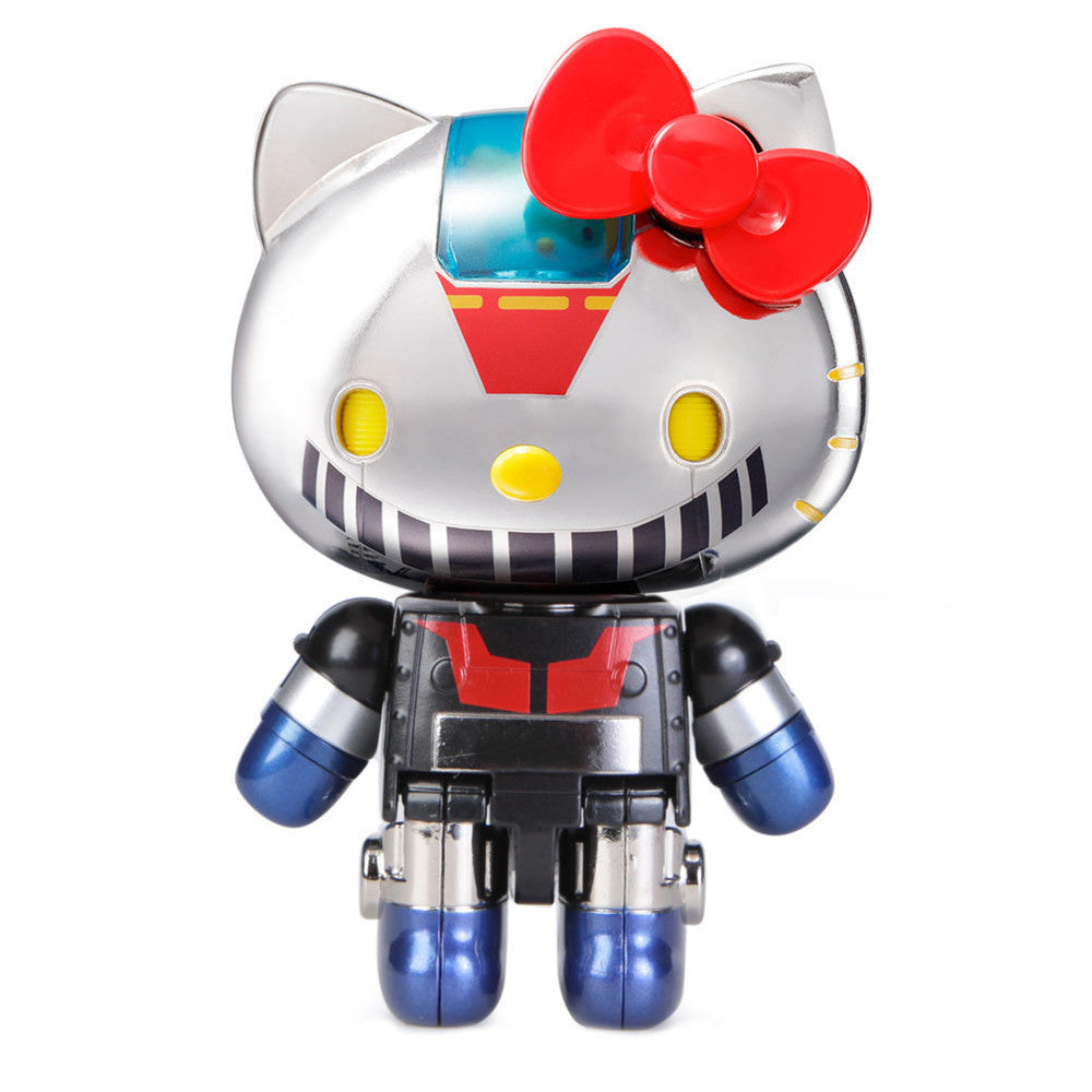 Hello Kitty Mazinger Z Chogokin Super Metal Alloy Toy Figure