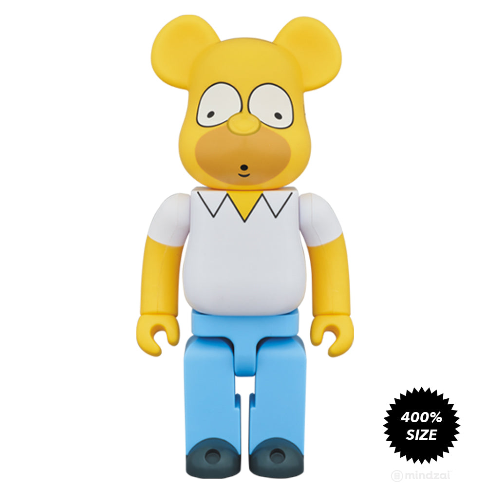 Homer simpson 400 bearbrick by the simpsons x medicom toy - Homer simpson and bart simpson ...
