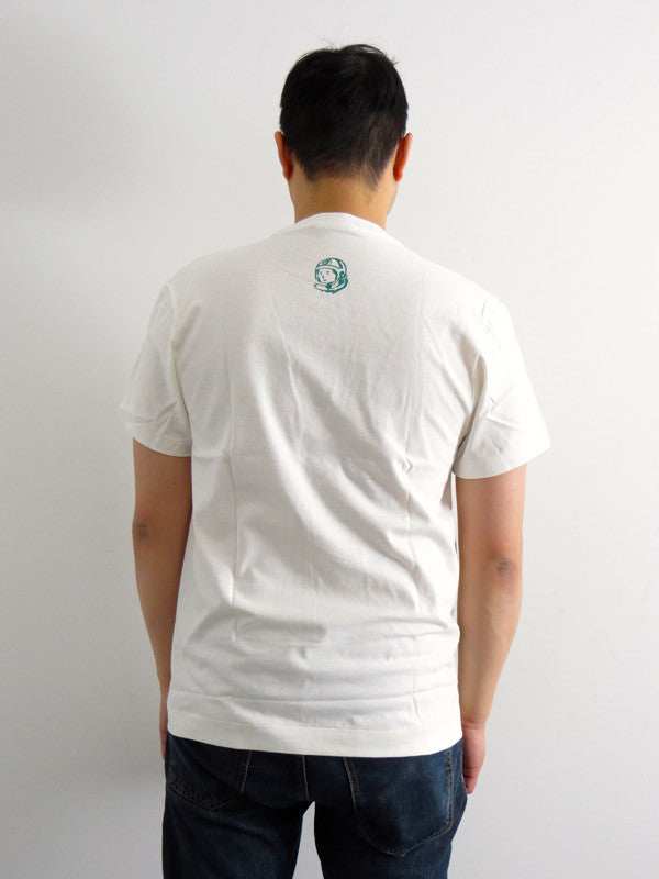 Classic Arch Green Logo/White T-shirt by Billionaire Boys Club - Mindzai  - 1