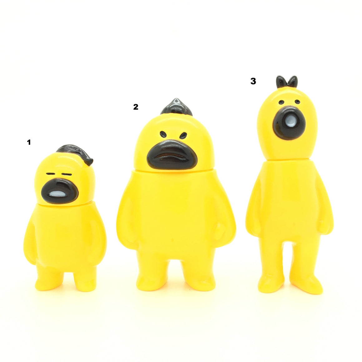 Are, Sore, Kore Soft Vinyl Guardians Yellow/Black Sofubi Toy by Hariken