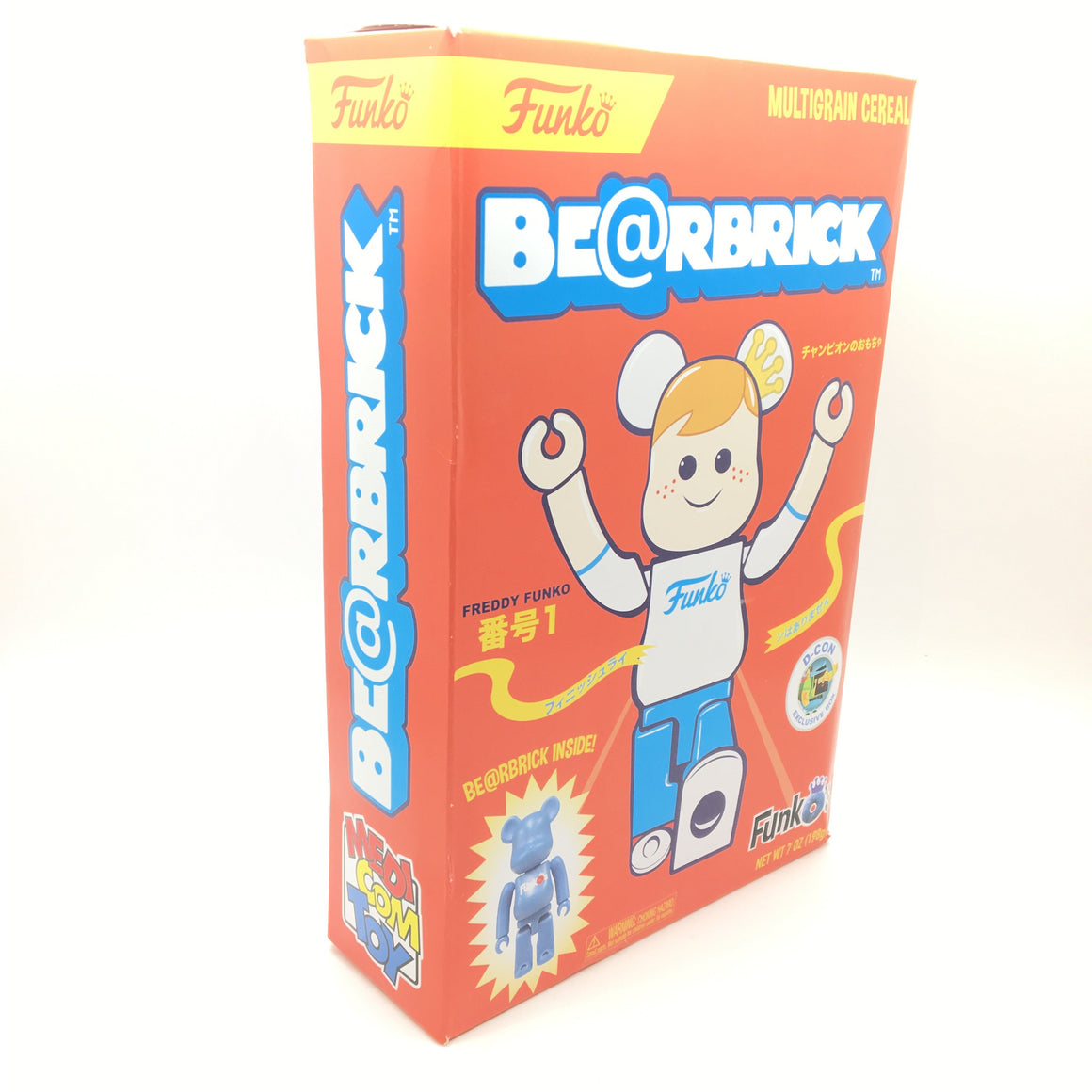 Bearbrick Funko's Cereal with 100% Bearbrick Figure Designer Con ( DCON ) Exclusive - Red Box