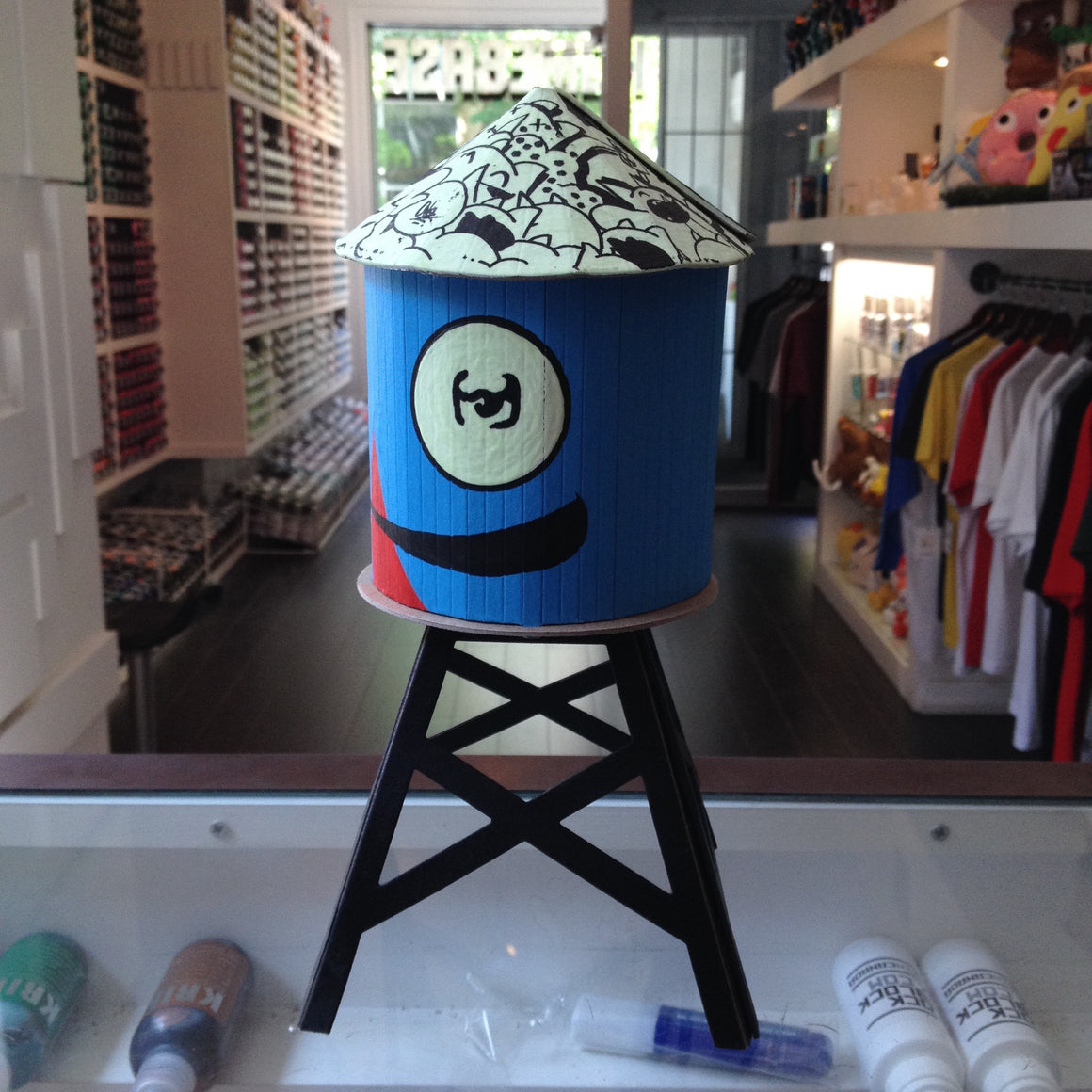 SeeOne Custom Boundless Brooklyn Water Tower - Mindzai  - 1