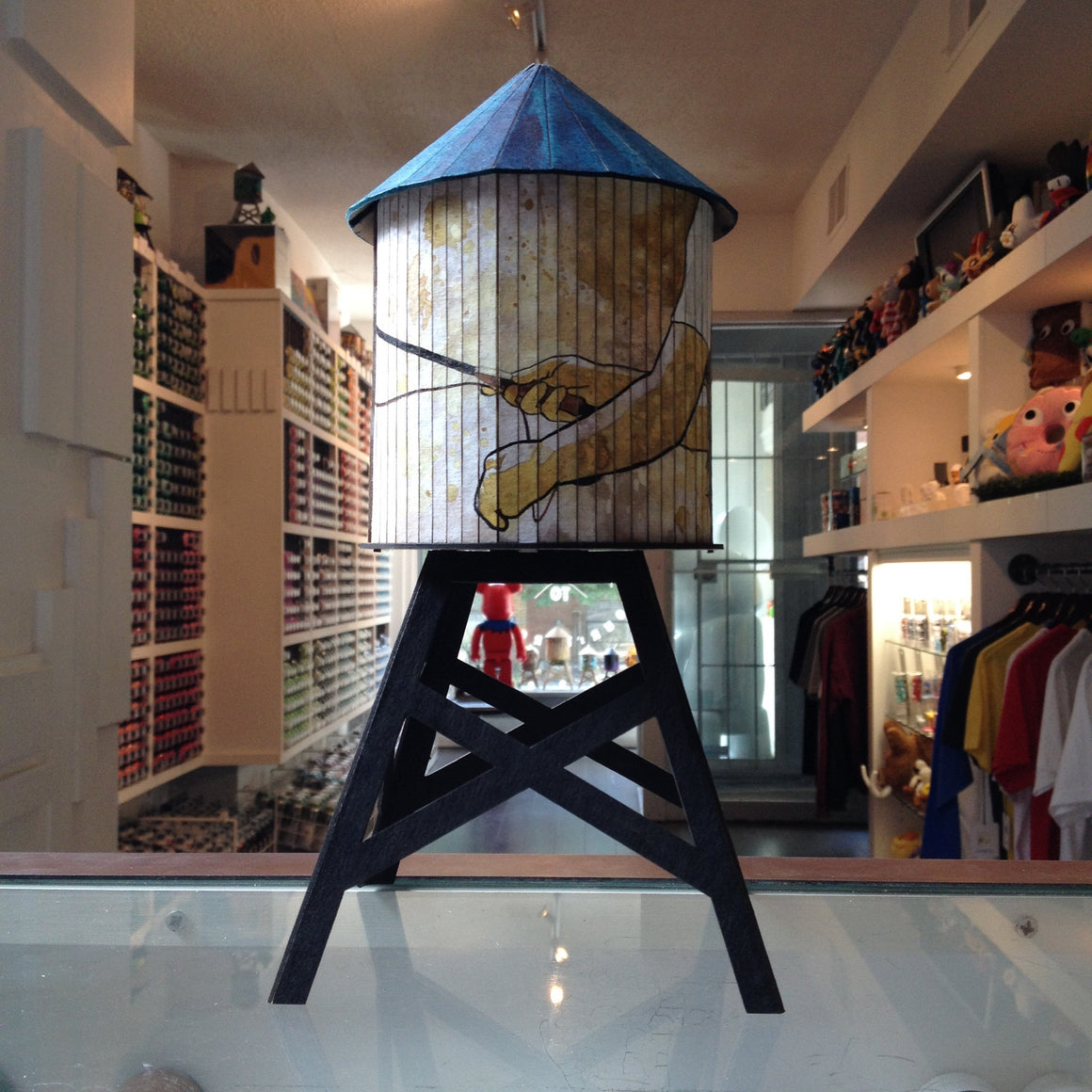 Lou Pimentel Time Flies Custom Boundless Brooklyn Water Tower - Mindzai  - 1