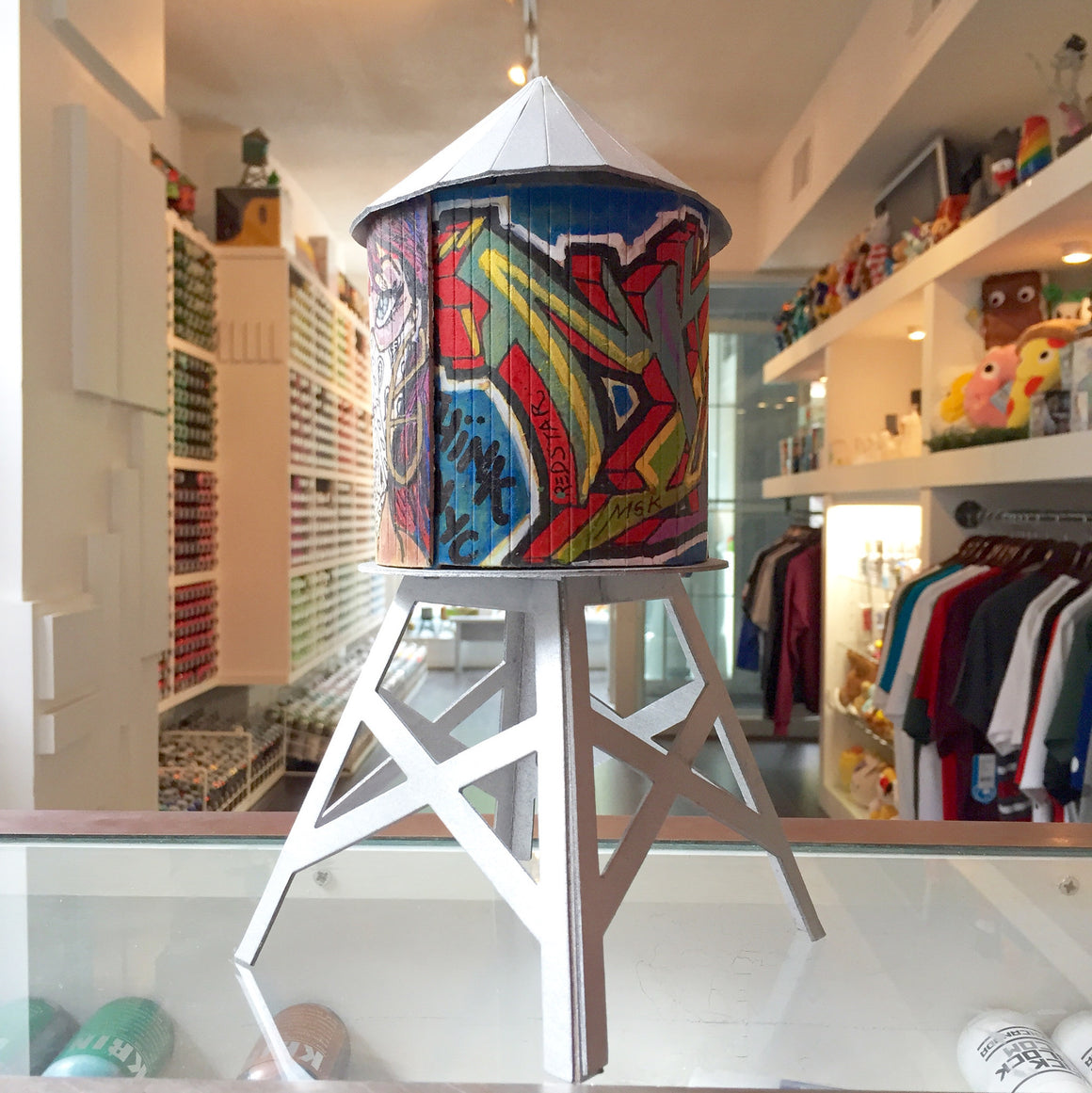 Nicholai Khan Custom Boundless Brooklyn Water Tower - Mindzai  - 1