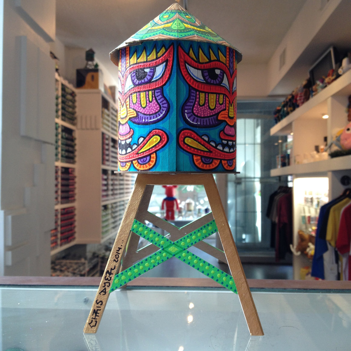Chris Dyer Custom Boundless Brooklyn Water Tower - Mindzai  - 1