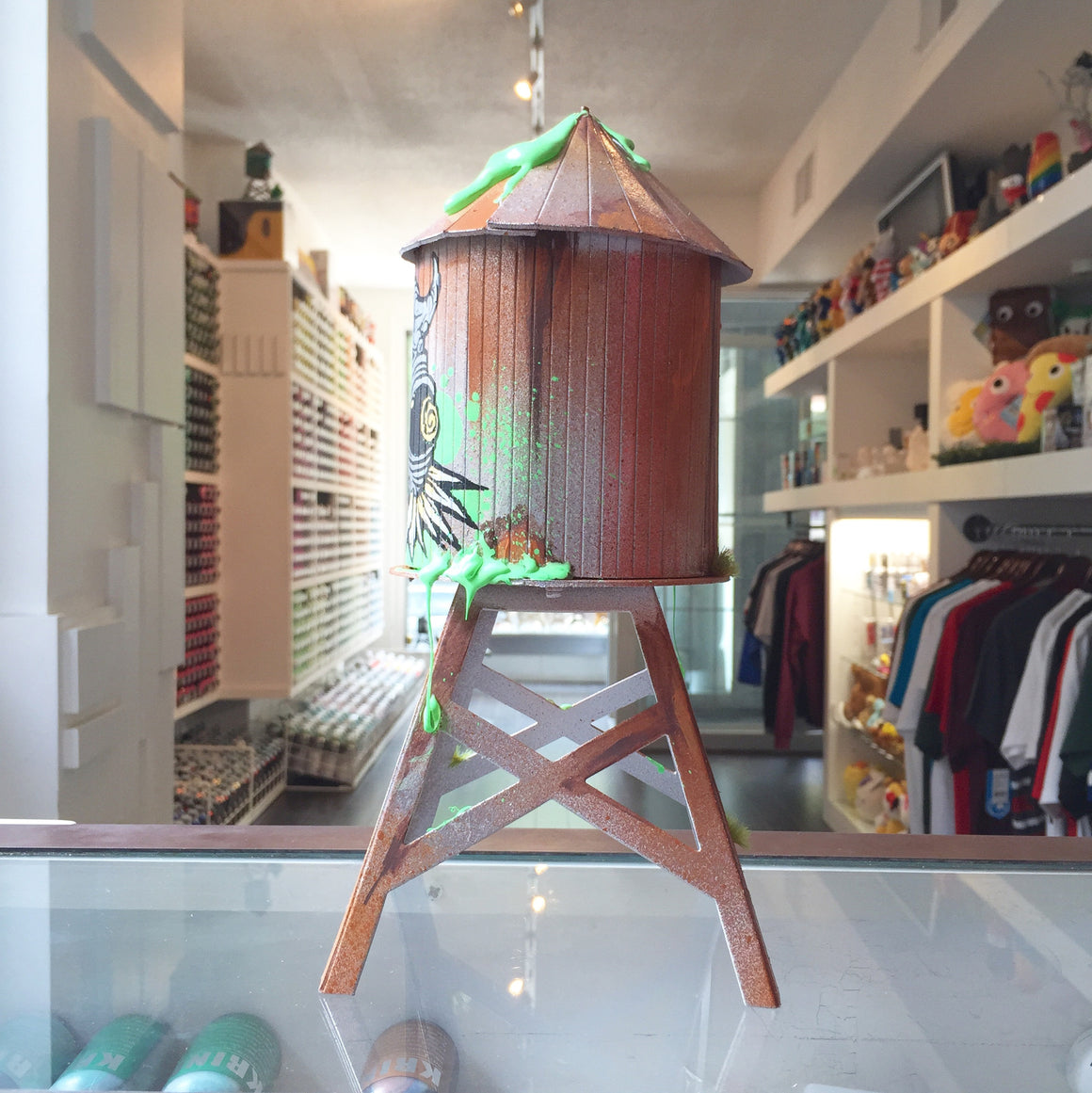 Grominator Custom Boundless Brooklyn Water Tower - Mindzai  - 1